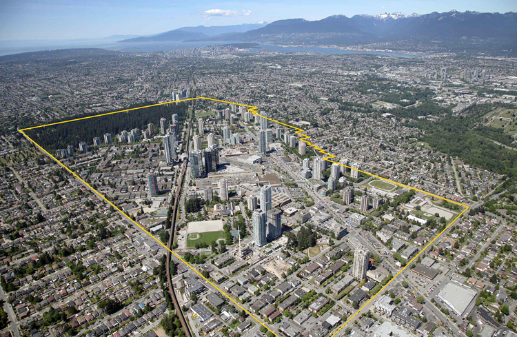 Burnaby Metrotown Downtown Plan