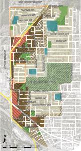 The Burquitlam-Lougheed area, Land Use Designations by LandAssembly.ca