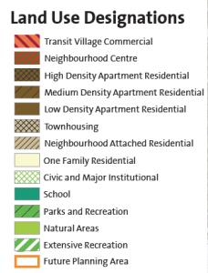 Land Use Designations - Coquitlam Land Assembly