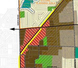 Burquitlam Neighbourhood Centre plan