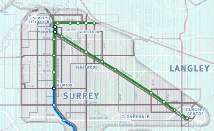Surrey LTR line